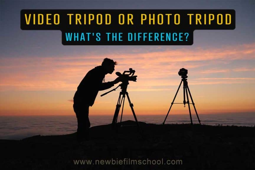 Video tripod vs. Photo tripod